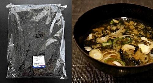 韓国 大邱 西門市場 乾物百貨店 あおさ海苔