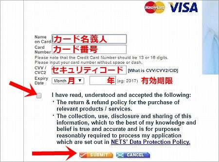 ミャンマーのビザのオンライン申請の方法(e-Visa)決済