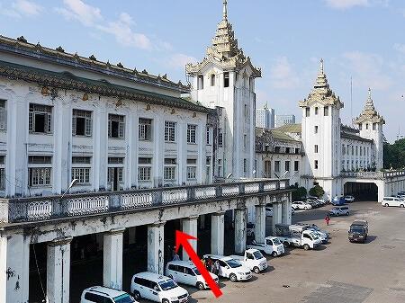 ミャンマー ヤンゴン 中央駅