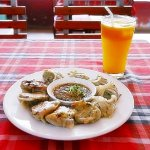 ミャンマー ヤンゴン LOTAYA レストラン 餃子