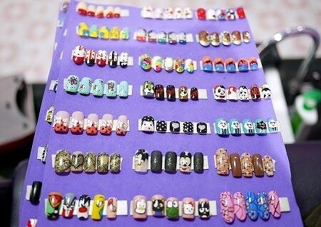 ミャンマー ヤンゴン ジェルネイル ネイルサロン Those Nails サンプル