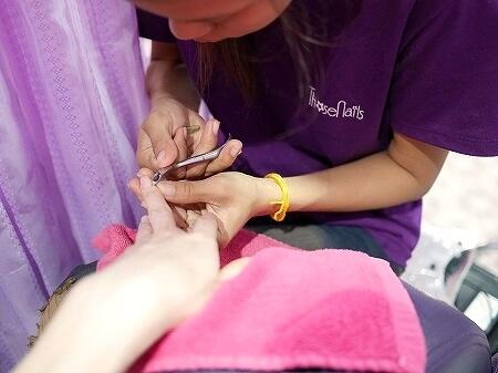 ミャンマー ヤンゴン ジェルネイル ネイルサロン Those Nails