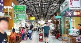 ミャンマー、ヤンゴンの「ボージョーアウンサンマーケット」布好き・宝石好きにはたまらない♡