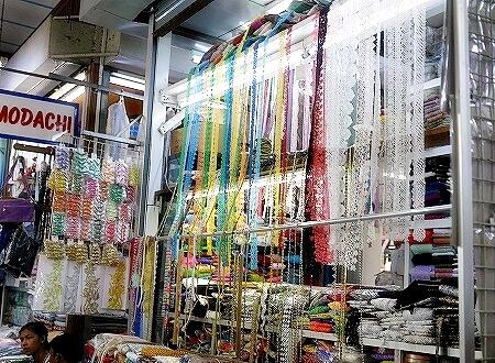 ミャンマー ヤンゴン ボージョーアウンサンマーケット Bogyoke Aung San Market レース