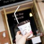 ミャンマー ヤンゴン ボージョーアウンサンマーケット カフェ COFFEE MELODY アイスコーヒー ミャンマーコーヒー