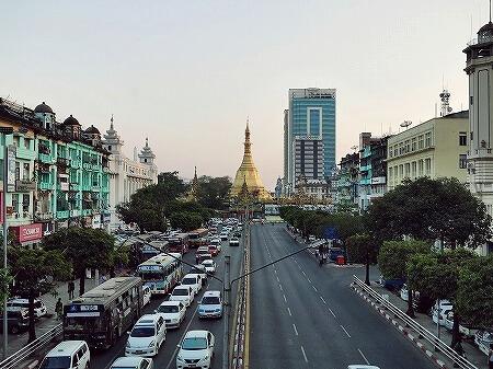 ミャンマー ヤンゴン スーレー・パゴダ