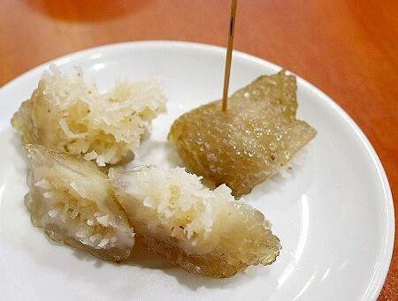 ミャンマー ヤンゴン 999 Shan Noodle シャンヌードル シャンカウスエ デザート