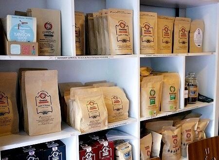 ミャンマー ヤンゴン カフェ Cafe Genius コーヒー