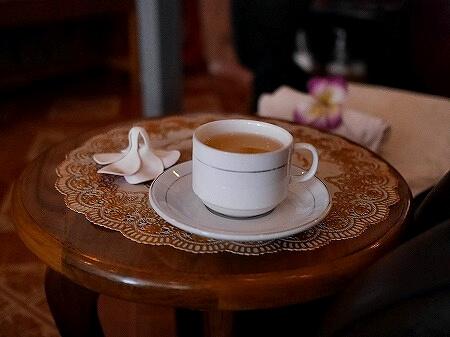 ミャンマー ヤンゴン ダウンタウン マッサージ Health Blessing お茶