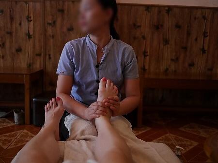 ミャンマー ヤンゴン ダウンタウン フットマッサージ Health Blessing