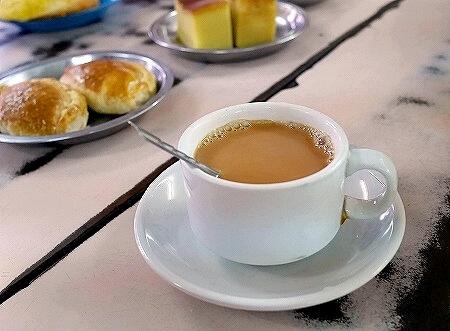 ミャンマー ヤンゴン GOLDEN BELL Tea Centre カフェ ローカル喫茶店 紅茶