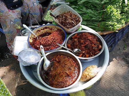 ミャンマー ヤンゴン ごはんのおとも インセイン市場