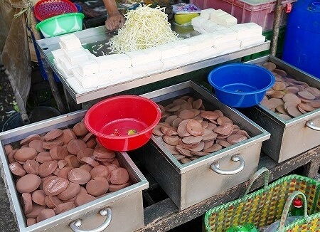 ミャンマー ヤンゴン 豆腐 インセイン市場
