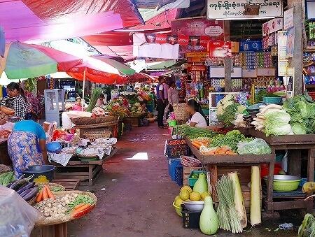 ミャンマー ヤンゴン インセイン市場 insein market