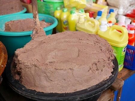 ミャンマー ヤンゴン 塩辛 ンガピ インセイン市場