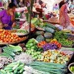 ミャンマー ヤンゴン インセイン市場 野菜 insein market yangon myanmar