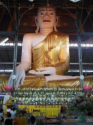 ミャンマー ヤンゴン コータッジーパゴダ コーターチーパゴダ Koe Htat Gyi