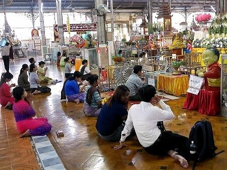 ミャンマー ヤンゴン コータッジーパゴダ コーターチーパゴダ Koe Htat Gyi お祈り