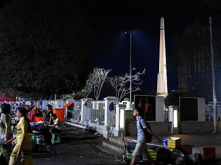 ミャンマー ヤンゴン マハバンドゥーラ公園 独立記念塔
