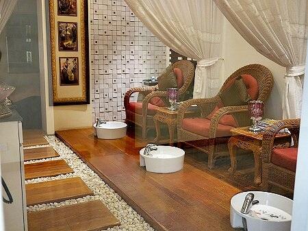 ミャンマー ヤンゴン スーレーシャングリラホテル 美容院 シャンプー BEAUTY CENTRE