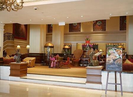 ミャンマー ヤンゴン スーレーシャングリラホテル ピーコックラウンジ PEACOCK LOUNGE