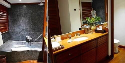 ベルモンド ガバナーズ レジデンス Belmond Governor's Residence ヤンゴン ミャンマー 部屋 バスルーム