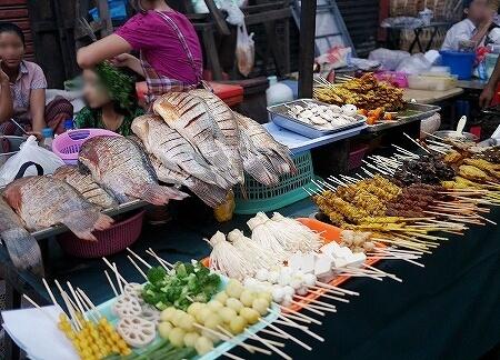 ヤンゴン ミャンマー 中華街 ナイトマーケット 屋台