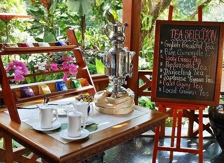 ベルモンド ガバナーズ レジデンス Belmond Governor's Residence ヤンゴン ミャンマー 朝食 紅茶