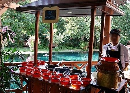 ベルモンド ガバナーズ レジデンス Belmond Governor's Residence ヤンゴン ミャンマー 朝食 エッグステーション
