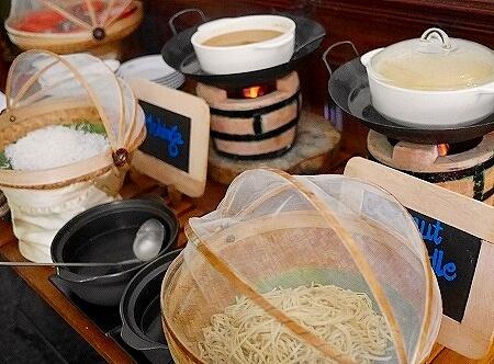 ベルモンド ガバナーズ レジデンス Belmond Governor's Residence ヤンゴン ミャンマー 朝食 モヒンガー