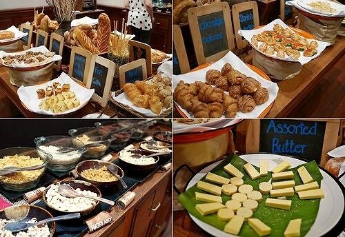 ベルモンド ガバナーズ レジデンス Belmond Governor's Residence ヤンゴン ミャンマー 朝食 パン バター