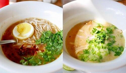 ベルモンド ガバナーズ レジデンス Belmond Governor's Residence ヤンゴン ミャンマー 朝食 モヒンガー ココナッツミルク麺