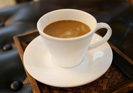ミャンマー ヤンゴン サンクチュアリー スパ Yangon Sanctuary Spa ドリンク コーヒー