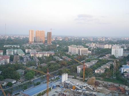 メリア ヤンゴン ホテル Melia Yangon 部屋 景色 眺め