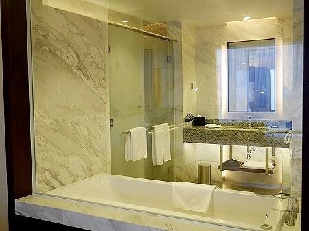 メリア ヤンゴン ホテル Melia Yangon バスタブ バスルーム お風呂