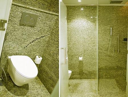 メリア ヤンゴン ホテル Melia Yangon 部屋 トイレ シャワー