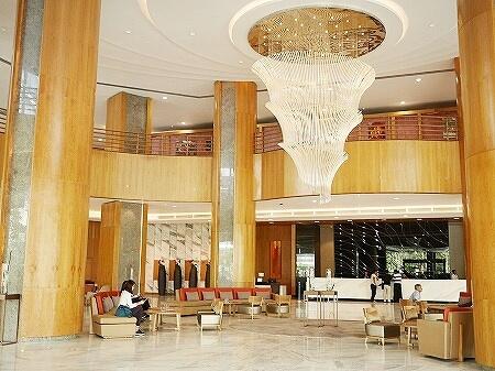 メリア ヤンゴン ホテル Melia Yangon ロビー