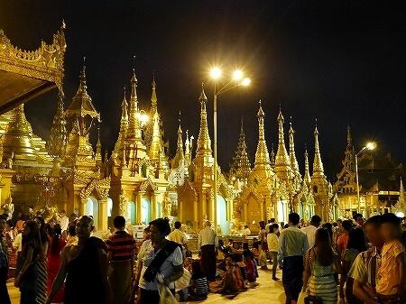 ミャンマー ヤンゴン シュエダゴン・パゴダ