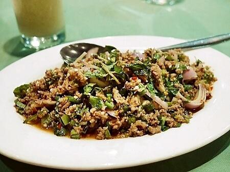 ミャンマー ヤンゴン Sabai@DMZ タイ料理レストラン ラープ