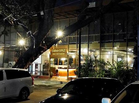 ミャンマー ヤンゴン Sabai@DMZ タイ料理レストラン 外観