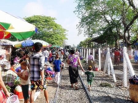 ミャンマー ヤンゴン ダニンゴン市場
