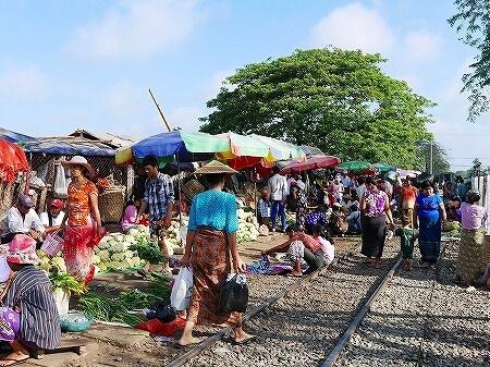 ダニンゴン市場 Danyingon Market(Da Nyin Gone)