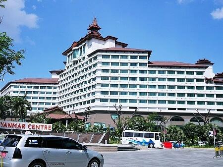 ミャンマー ヤンゴン セドナホテル sedona hotel