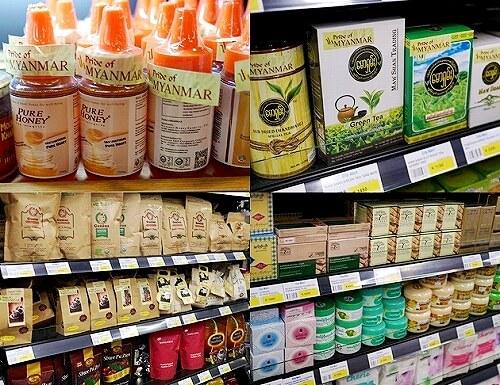 ミャンマー ヤンゴン スーパー マーケットプレイス Market Place お土産