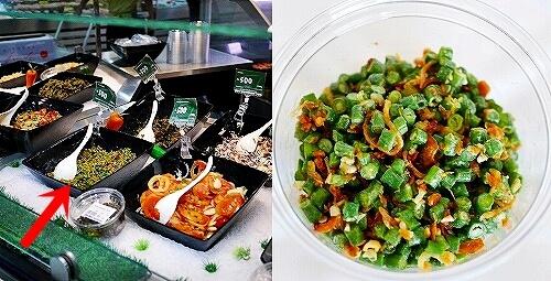ミャンマー ヤンゴン スーパー マーケットプレイス ミャンマープラザ店 Market Place お惣菜 サラダ