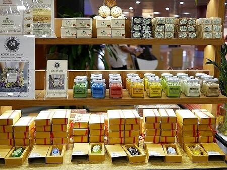 ヤンゴン国際空港 第1ターミナル お土産 ARTISAN 石鹸 キャンドル