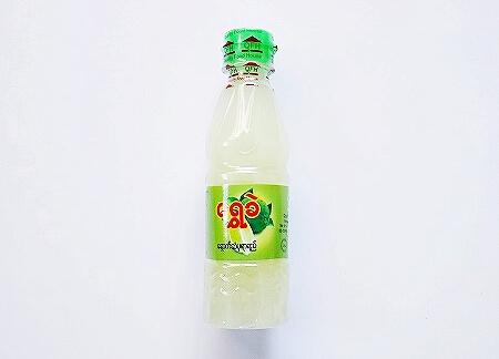 ミャンマー スーパー お土産 ライムジュース 果汁
