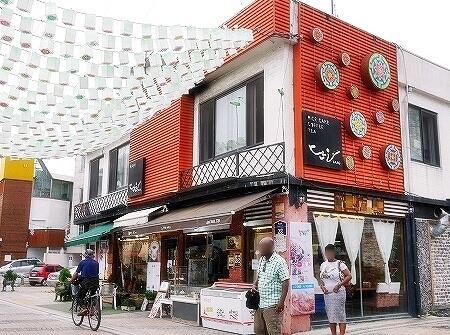韓国 水原 工房通り DANO カフェ