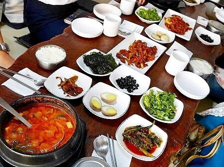 韓国 水原 チョングッチャン 城郭食堂 성곽식당 納豆鍋 清麹醤