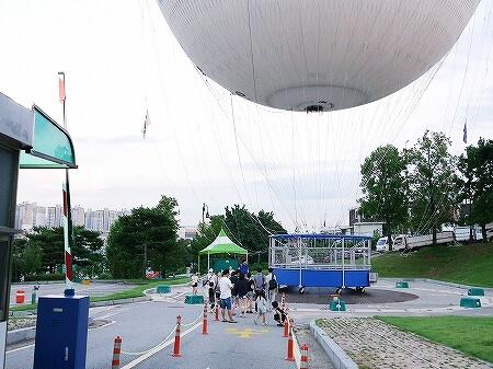 韓国 水原華城 フライング水原 気球